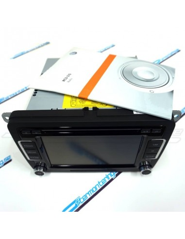 VW RCD-510 med videosignal & manual...