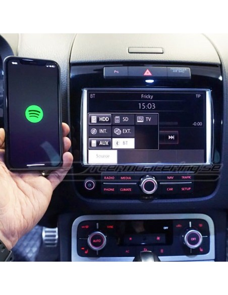 Integrerad DAB+ för VW original-radio