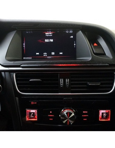Original LED fotbelysning Volkswagen Golf Tiguan Jetta Passat mm.
