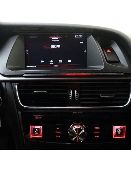 LED fotbelysning Volkswagen