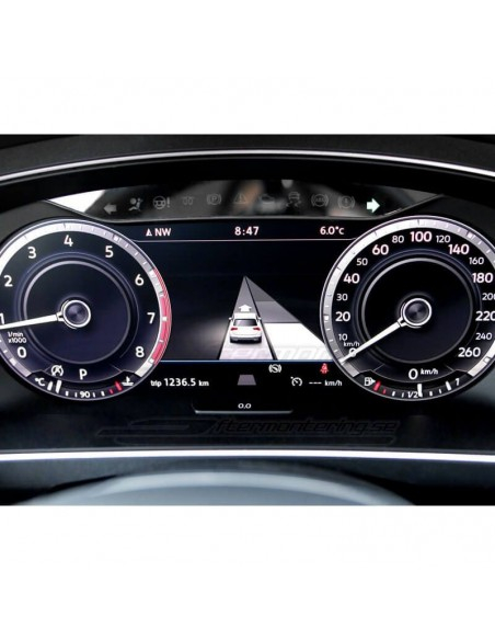 Tyg-mattor för Audi A6 4F/C6 S-line edt. (Premium velour)
