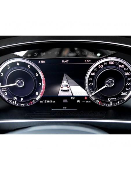 Textil-mattor för Audi A6 / A7 4G/C7 (Premium velour)