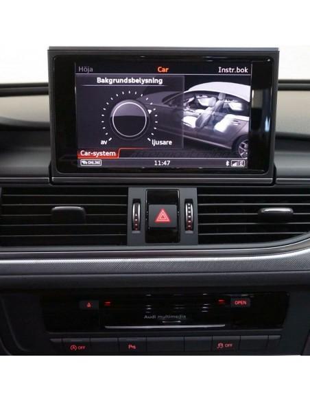 Tyg-mattor för Audi TT 8J (Premium Velour)
