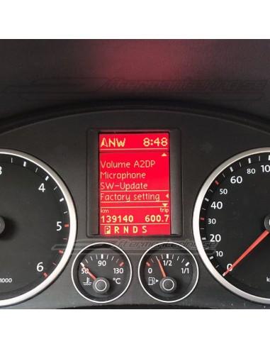 Växelspak perforerad Audi original (manuell)