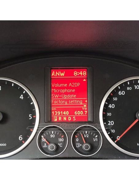 Perforerad växelspak för Audi (manuell)