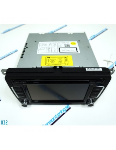 VW RCD-510 med videosignal & manual...