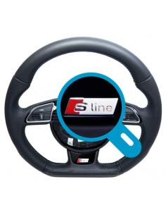 Audi ratt-emblem (RS / S /...