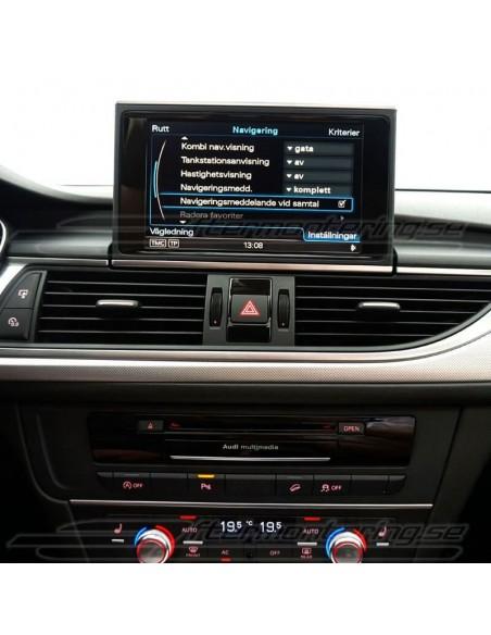 Fjärr-start av parkeringsvärmare för Audi Q7