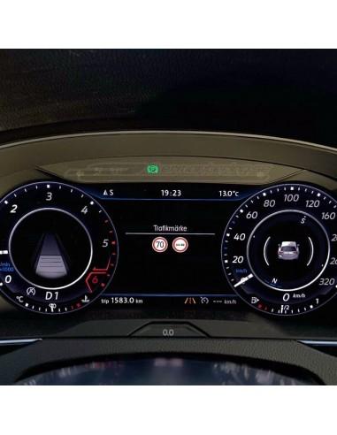 Varmvit LED-modul innerbelysning Volkswagen (CAN-BUS säkra)