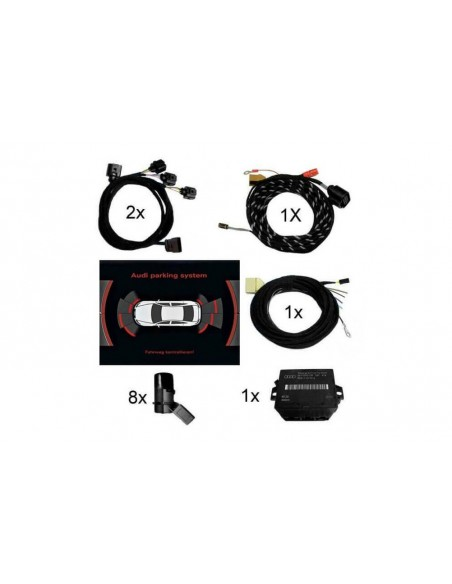 Nightvision-kit för Audi A6 / A7 / A8