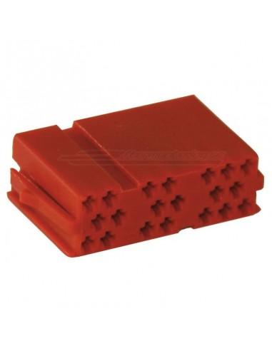 MINI ISO kontakthus - 20-pin (hane)
