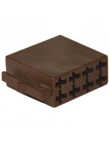 ISO kontakthus - 8-pin högtalare (hane)