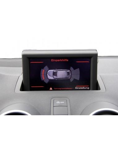 Integrerad backkamera för Audi Q3 8U
