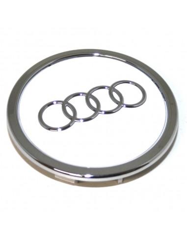 Centrumkåpa vit högglans Audi original