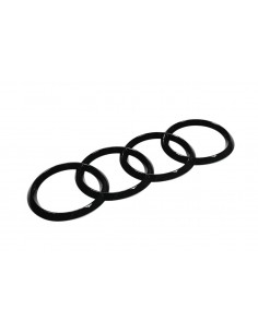 Audi ringar (svart-optik)...