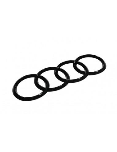 Audi ringar (svart-optik) emblem för...