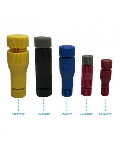 MINI ISO kontakthus - 20-pin (hona)