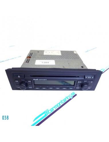 AUDI ORIGINALRADIO CONCERT 8P0035186C