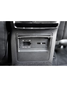230V uttag & USB port för...