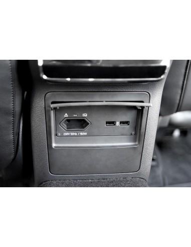 230V uttag & USB port för Skoda...