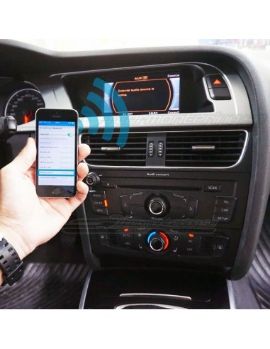 AUX till Bluetooth för trådlös musik i Audi A4 A5 Q5 mm.