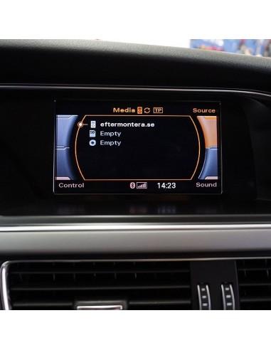 Audi RMC TV/DVD-spärr avaktivering