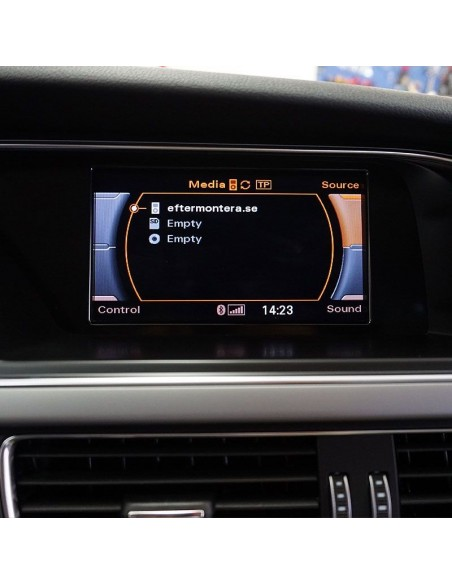 Audi RMC (Navi Low) TV/DVD-spärr avaktivering