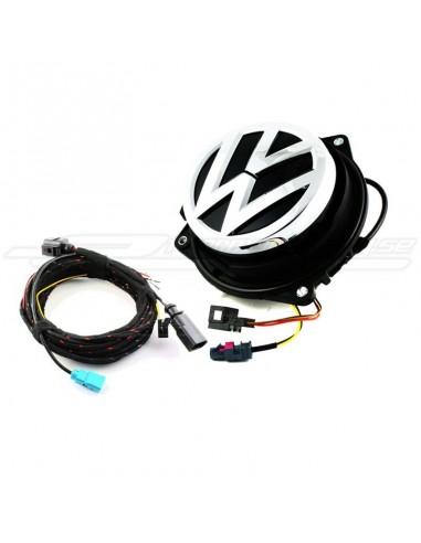 VW original-emblem med backkamera