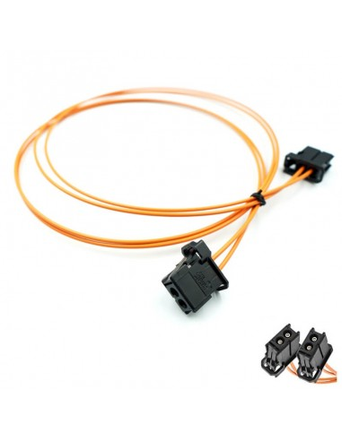 Optisk fiber-adapter hane-hane (MOST)