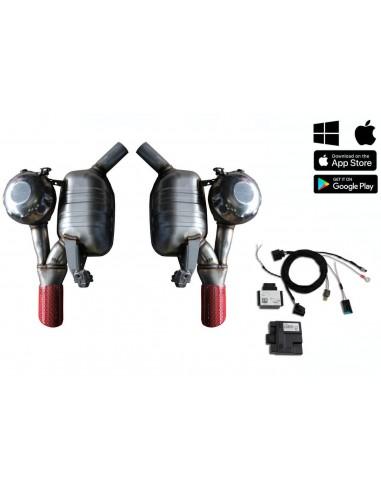 Aktivt avgassystem med Sound Booster...