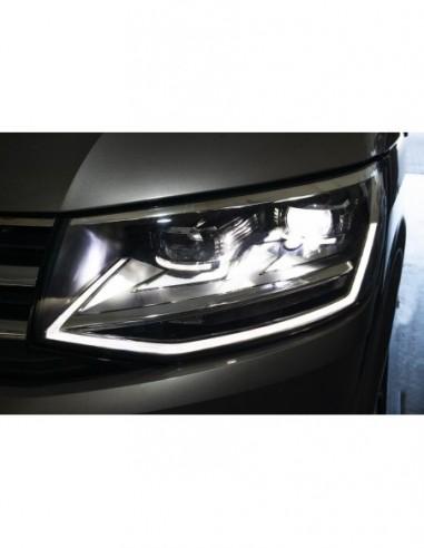 LED strålkastare med DRL för VW...