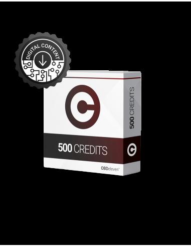 500st OBDeleven krediter (credits)