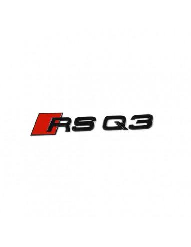 Svart RSQ3 bagage-emblem för Audi Q3,...