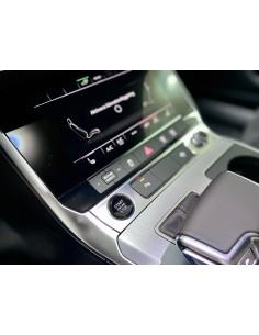 Svart start/stop-knapp Audi...