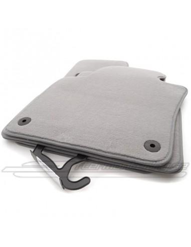 Grå tyg-mattor för Audi A4 / A5...