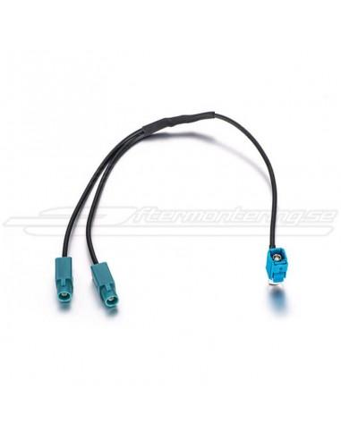 Antenn-adapter fakra (enkel till dubbel)