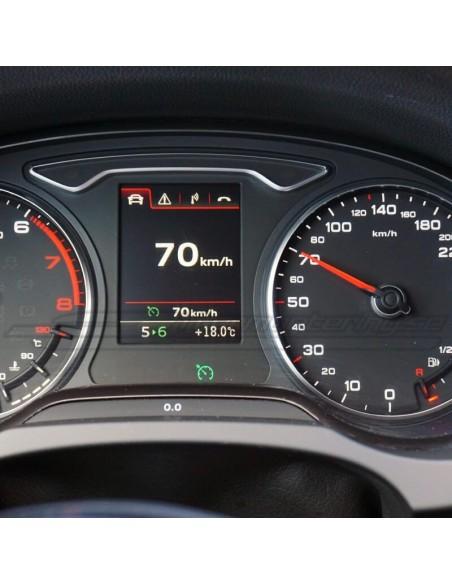 Perforerad Audi RS (A6/A7/A8) sport-ratt med paddlar