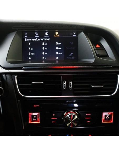 Dörrpanel LED för Audi A6 (Ambient/Ljus-paketet)