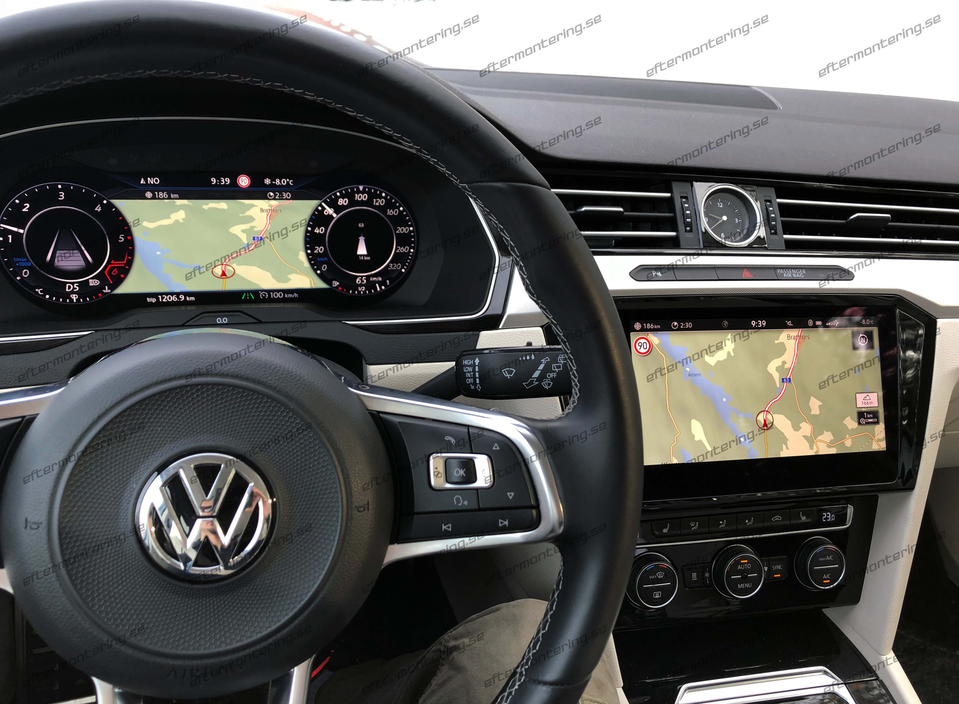 volkswagen active info display installation retrofit. Black Bedroom Furniture Sets. Home Design Ideas