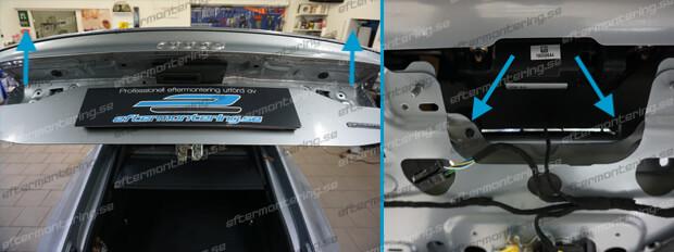 Eftermontering av backkamera i Audi A6 4A C8 2018