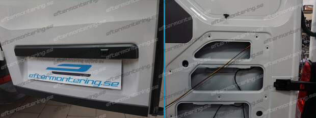 Integrerad backkamera VW Transporter T6 original
