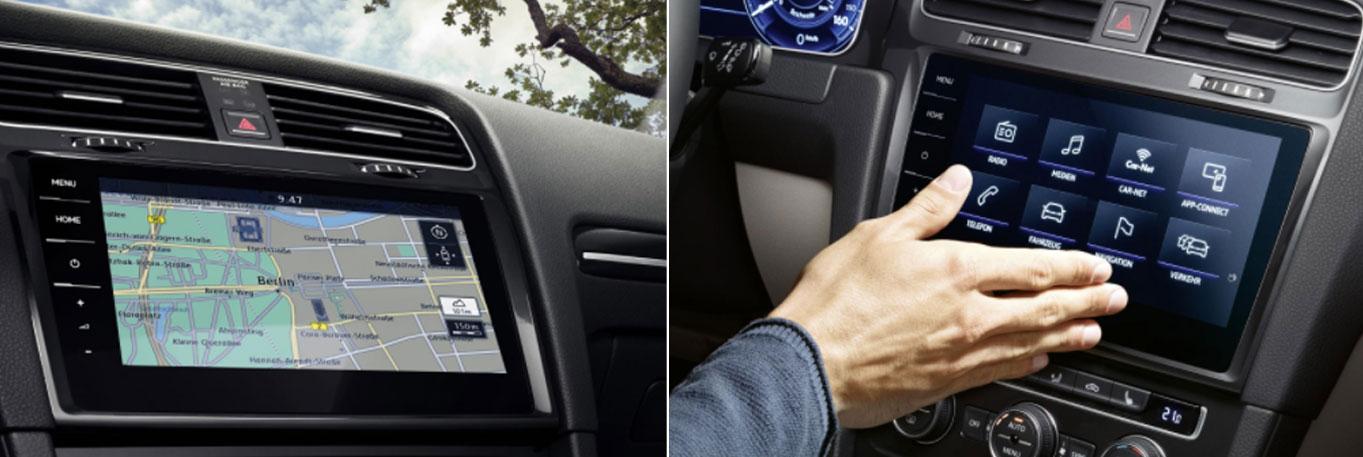 Volkswagen Golf 7 facelift infotainment / radio / navigation