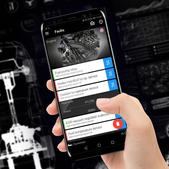 Nya OBDeleven för Android & iPhone beställning