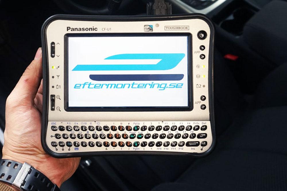 Aktivera parkeringsvärmare Audi Q7 programmering kodning