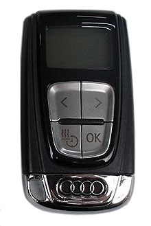 Audi parkeringsvärmare GSM-styrning genom SMS / telefon