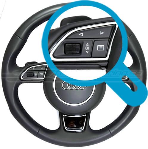 Audi RS original paddlar / ratt-knappar