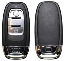 Audi nyckel fodral skydd hölje silikon