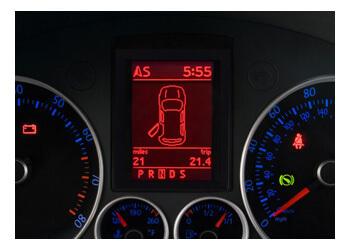Volkswagen MFD Färddator DIS