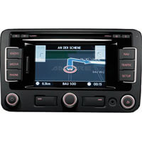 Volkswagen RNS315 bluetooth aktivering