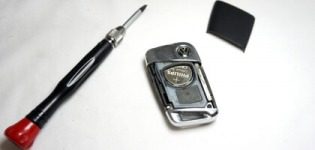 VW key-less nyckelbatteri